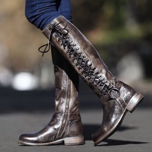 Bed Stu Shoes - Free People x Bed Stu York Burnley Tall Boots